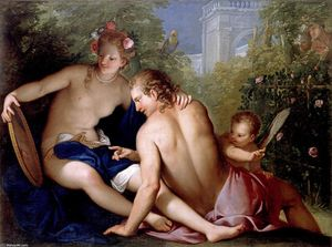 Antonio Bellucci - Rinaldo and Armida