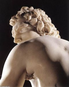 Gian Lorenzo Bernini - David (detail)
