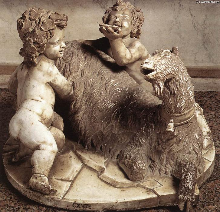 goat amalthea the infant jupiter and a faun marble by gian the goat amalthea the infant jupiter and a faun marble by gian lorenzo bernini 1598 1680