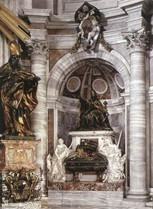 Gian Lorenzo Bernini - Tomb of Pope Urban VIII