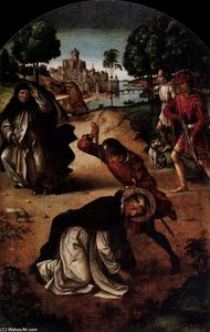 Pedro Berruguete - The Death of Saint Peter Martyr