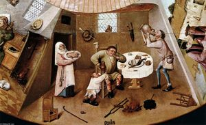 Hieronymus Bosch - The Seven Deadly Sins (detail) (11)