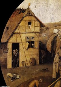 Hieronymus Bosch - The Wayfarer (detail)
