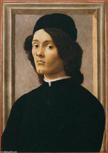 Sandro Botticelli - Portrait of a Youth