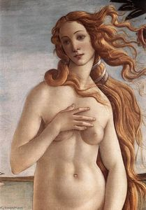 Sandro Botticelli - The Birth of Venus (detail) (10)