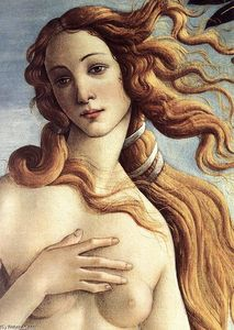 Sandro Botticelli - The Birth of Venus (detail) (11)
