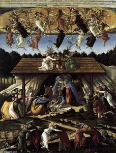 Sandro Botticelli - The Mystical Nativity