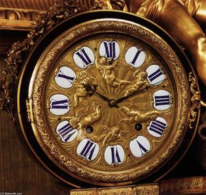 André Charles Boulle - Clock face