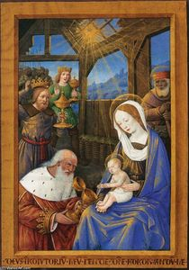 Jean Bourdichon - Adoration of the Magi