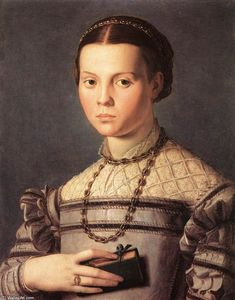 Agnolo Bronzino - Portrait of a Young Girl