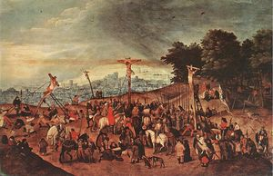 Pieter Bruegel The Younger - Crucifixion