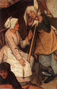 Pieter Bruegel The Younger - Proverbs (detail) (17)