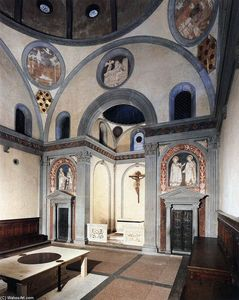 Filippo Brunelleschi - Old Sacristy