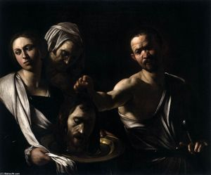 Caravaggio (Michelangelo Merisi) - Salome with the Head of St John the Baptist