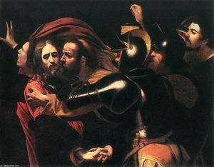 Caravaggio (Michelangelo Merisi) - The Taking of Christ