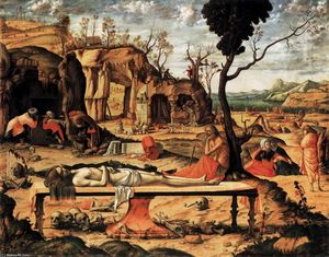 Vittore Carpaccio - The Dead Christ