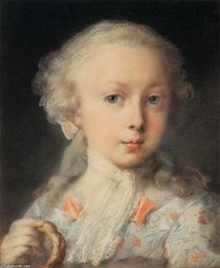 Rosalba Carriera - Young Lady of the Le Blond Family