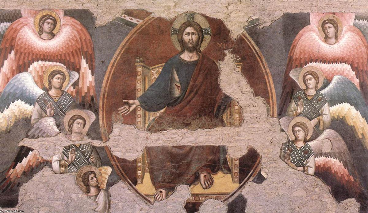 The Last Judgement (detail) (27), Frescoes by Pietro Cavallini (1240-1330, Italy)