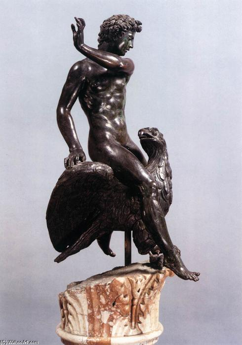 Order Paintings Reproductions | Ganymede (8), 1548 by Benvenuto Cellini (1500-1571, Italy) | WahooArt.com