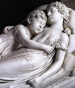 Francis Legatt Chantrey - The Sleeping Children (detail)