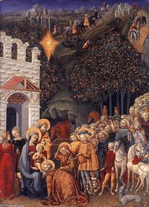Michele Di Michele Ciampanti - Adoration of the Magi