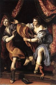 Lodovico Cardi (Cigoli) - Joseph and Potiphar's Wife