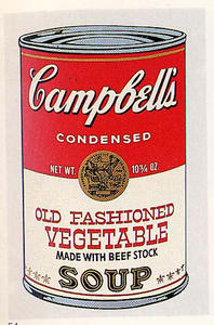 Andy Warhol - Old Fashioned Vegetable