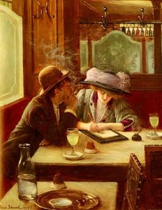 Jean Georges Béraud - The Letter