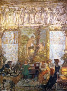 Jean Edouard Vuillard - The Library