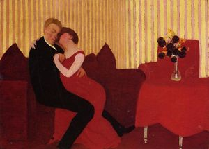 Felix Vallotton - The Lie