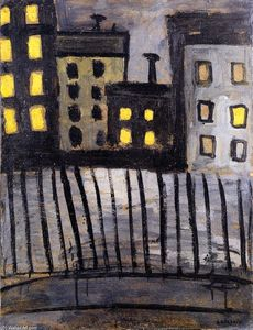 Auguste Chabaud - Lighted Windows