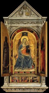 Fra Angelico - Linaioli Tabernacle (shutters open)