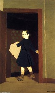 Jean Edouard Vuillard - The LIttle Delivery Boy