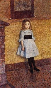 Theo Van Rysselberghe - Little Denise