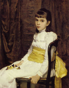 Cecilia Beaux - A Little Girl