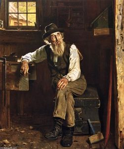 John George Brown - Living in the Past