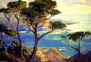Franz Bischoff - A Lonely Headland, Point Lobos