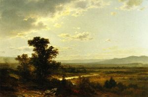 John William Casilear - Looking Towards Catskills