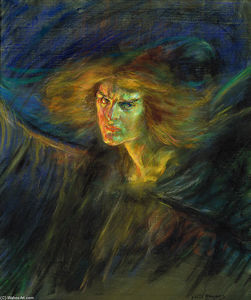 Alice Pike Barney - Lucifer (also known as Natalie Clifford Barney)