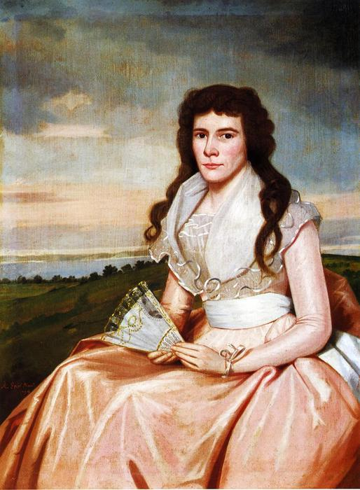 Lucy Bradley, 1794 by Ralph Earl (1751-1801, United States) | Museum Quality Reproductions | WahooArt.com