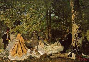 Claude Monet - Luncheon on the Grass