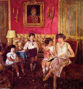 Jean Edouard Vuillard - Madame Jean Bloch and Her Children