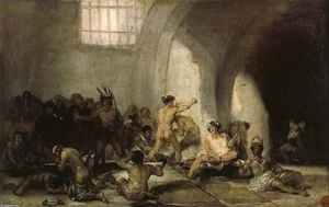 Francisco De Goya - The Madhouse