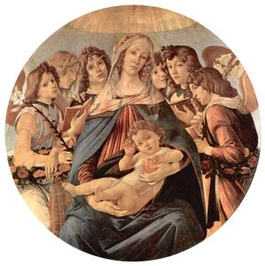 Sandro Botticelli - Madonna of the Pomegranate
