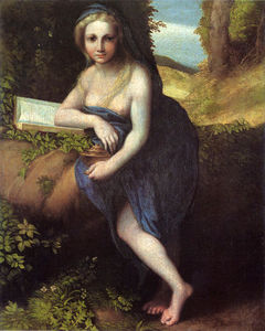Antonio Allegri Da Correggio - The Magdalene