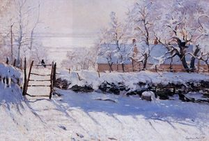 Claude Monet - The Magpie