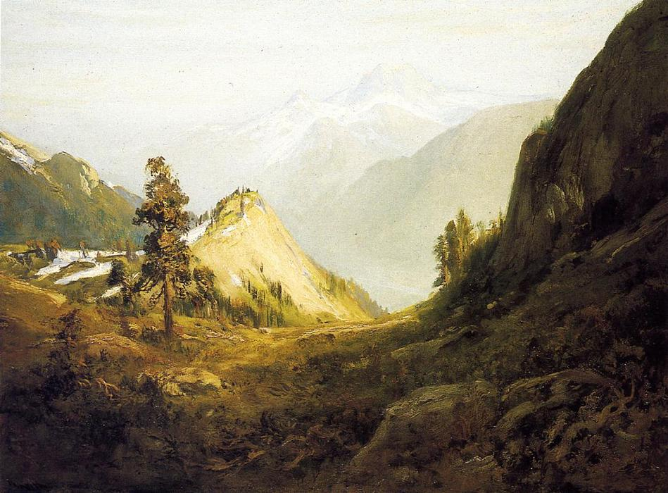 Majestic California, Oil On Canvas by William Keith (1838-1911, Scotland)
