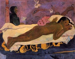 Paul Gauguin - Manao Tupapau (also known as Spirit of the Dead Watching)