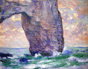 Claude Monet - The Manneport, Seen from Below
