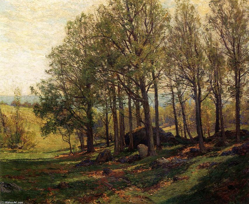 Maples in Spring, Oil On Canvas by Hugh Bolton Jones (1848-1927)